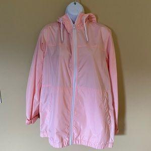 Zine pink windbreaker